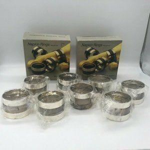 🟣🟣🟣8 Oneida Silversmith Wm A Rogers Napkin Ring